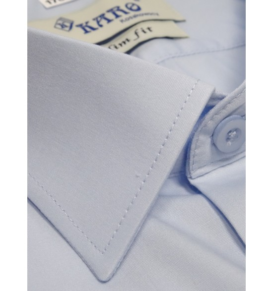 Koszula męska slim biała z elastanem