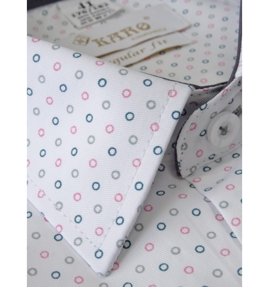 Koszula męska z krótkimi rękawami