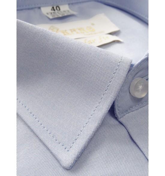 Koszula męska wizytowa błękitna oxford