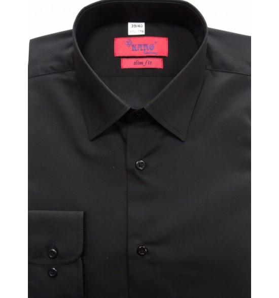 Koszula slim kolor czarny