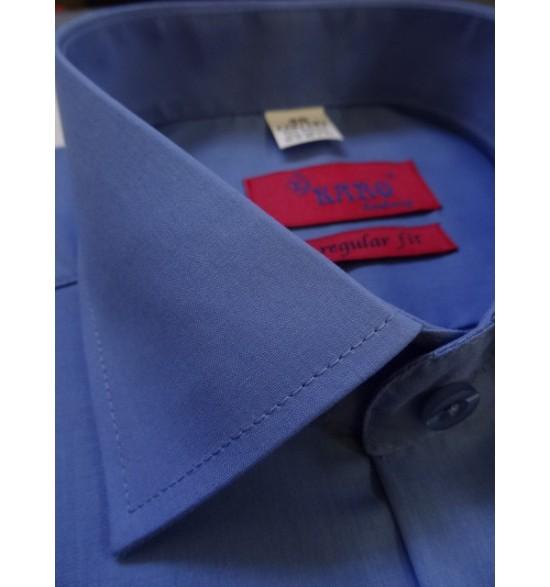 Koszula męska wizytowa kolor niebieski