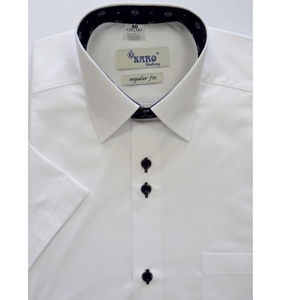 Koszula męska wizytowa biała 100%