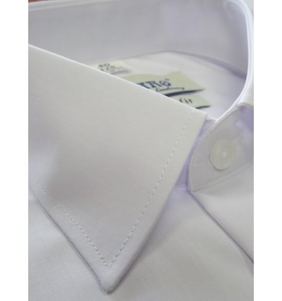 Koszula męska wizytowa kolor biały plisa