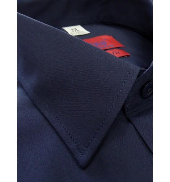 Koszula męska wizytowa kolor granat