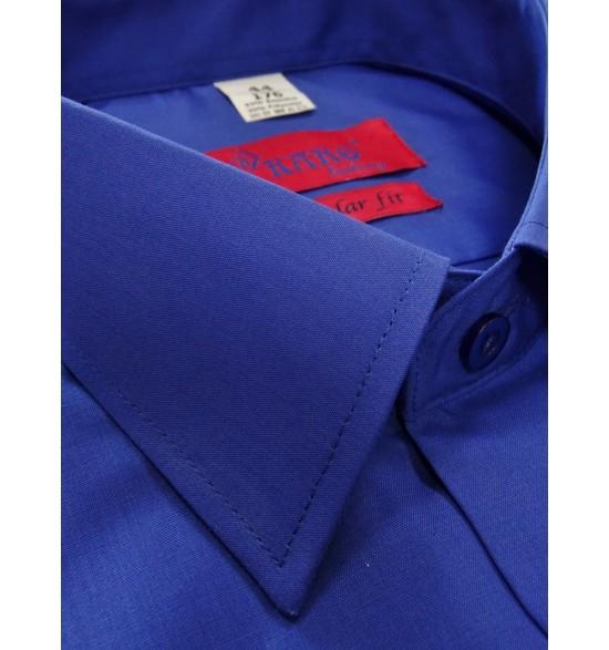 Koszula męska wizytowa kolor chaber