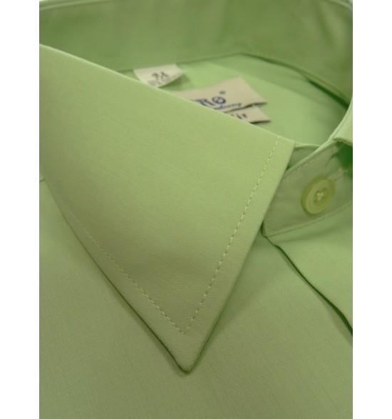 Koszula męska wizytowa kolor oliwka