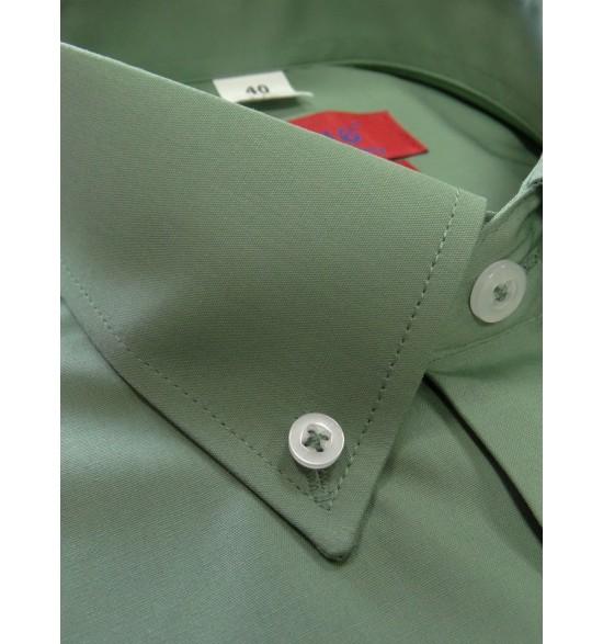 Koszula męska wizytowa kolor zielony