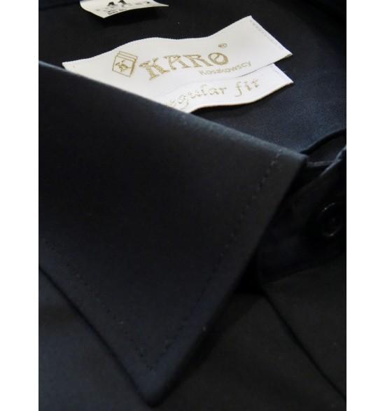Koszula męska wizytowa kolor czarny